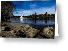 Sundial Bridge Greeting Card