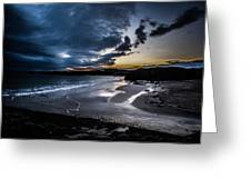 Sundown At Clachtoll Greeting Card