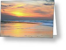 Sundown At Race Point Beach Greeting Card