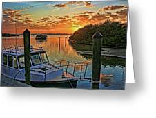 Sundown By H H Photography Of Florida Greeting Card