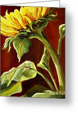 Sunflower - Sunny Side Up Greeting Card