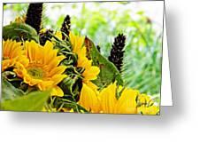 Sunflower Bouquet 2 Greeting Card