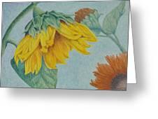 Sunflower Buddies Greeting Card
