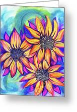 Sunflower Bundle Greeting Card