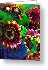 Sunflower Carnival Greeting Card