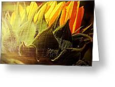 Sunflower Crown Greeting Card