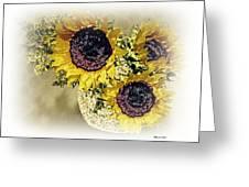 Sunflower Decor 9 Greeting Card