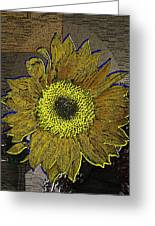 Sunflower Dreaming Greeting Card