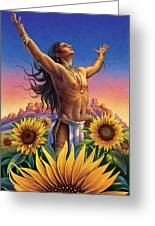 Sunflower - Glorious Success Greeting Card