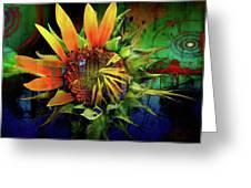 Sunflower Magic Greeting Card