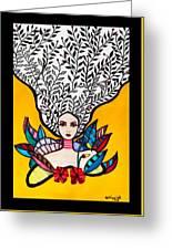 Sunflower Soul Greeting Card