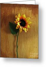 Sunflower Standing Greeting Card