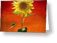 Sunflower Summer  Greeting Card