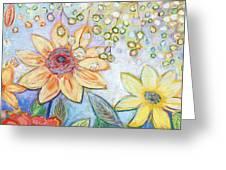 Sunflower Tropics Part 2 Greeting Card