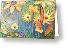 Sunflower Tropics Part 3 Greeting Card