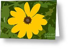 Sunflower Work Number 3 Greeting Card
