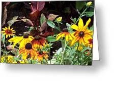 Sunflowerland Greeting Card