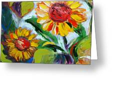 Sunflowers 10 Greeting Card