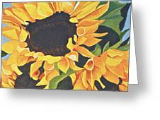 Sunflowers #3 Greeting Card