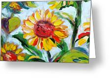 Sunflowers 6 Greeting Card