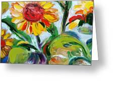 Sunflowers 9 Greeting Card