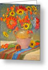 Sunflowers And More Greeting Card