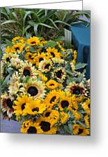 Sunflowers For Sale Greeting Card