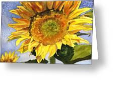 Sunflowers II Greeting Card