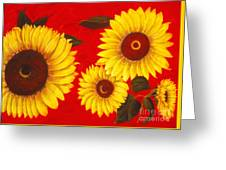 Sunflowers IIi Greeting Card