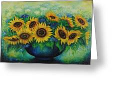 Sunflowers No 1. Greeting Card