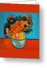 Sunflowers Van Gogh Greeting Card
