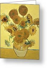 Sunflowers, 1888  Greeting Card