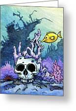 Sunken Head  Greeting Card