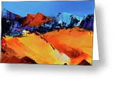 Sunlight In The Valley Greeting Card