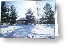 Sunlight In Winter Greeting Card