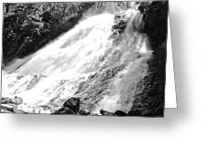 Sunlight Over The Falls Greeting Card