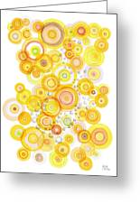 Sunlight Ripples Greeting Card