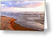 Sunlit Cannon Beach Greeting Card