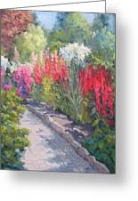 Sunlit Garden Greeting Card