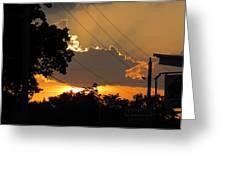 Sunlit Heaven's Greeting Card