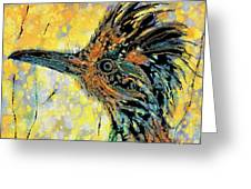Sunlit Roadrunner Greeting Card