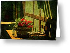 Sunny Corner Greeting Card