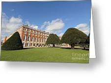 Sunny Day At Hampton Court Palace London Uk Greeting Card