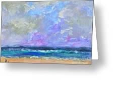 Sunny Day At The Sea Greeting Card