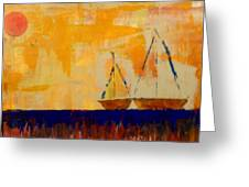 Sunny Day Sail Greeting Card