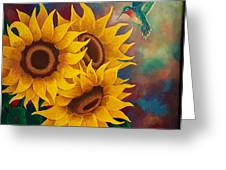 Sunny Faces Greeting Card