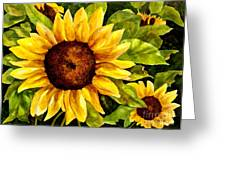 Sunny Floral Greeting Card