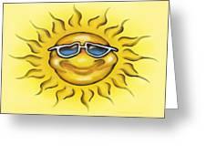 Sunny Greeting Card