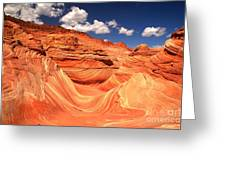 Sunny Northern Arizona Landscape Greeting Card