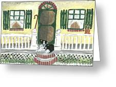 Sunny Porch Greeting Card